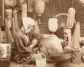 Japanese Lantern Painter Japan