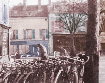 Bicyclettes France  fine art Photograph