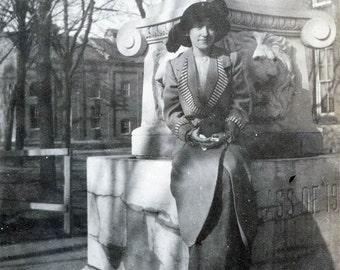 vintage photo 1914 Perdue University Bessie Chenoweth photograph