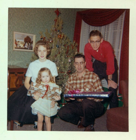 6540 Best Images About 1 Kodachrome Vintage Color On: 1960 Christmas Family Kodachrome Vintage Color Photograph