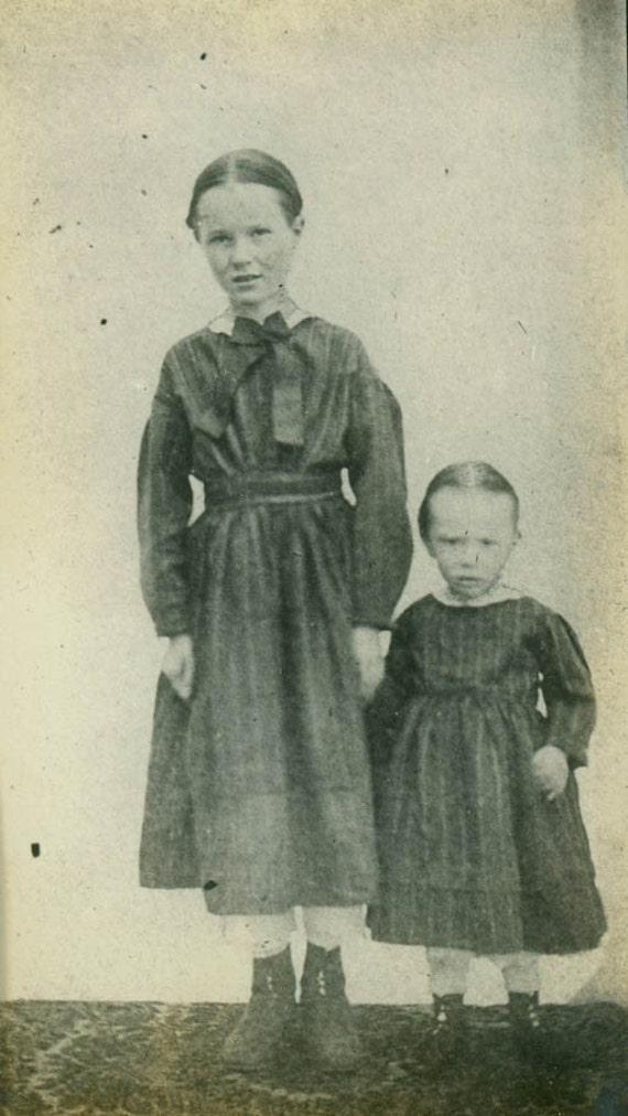 in civil war era clothing vintage photo