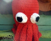 RESERVED Dr. Squidman  Halloween Costume Mask for ANDREWWLEO