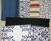 CHOOSE YOUR FABRIC Binder Cover for 1 1/2 inch or 2 inch binders