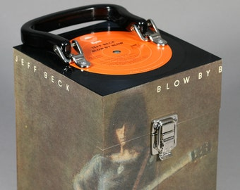 Jeff Beck Blow By Blow CD Case or Keepsake Box Handmade from Recycled Record