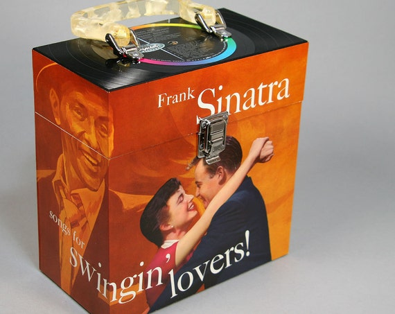 Recycled Record 7-inch 45 Carry Case - Sinatra Swings