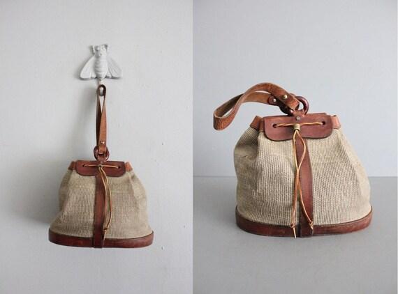 1960s vintage Etienne Aigner drawstring purse
