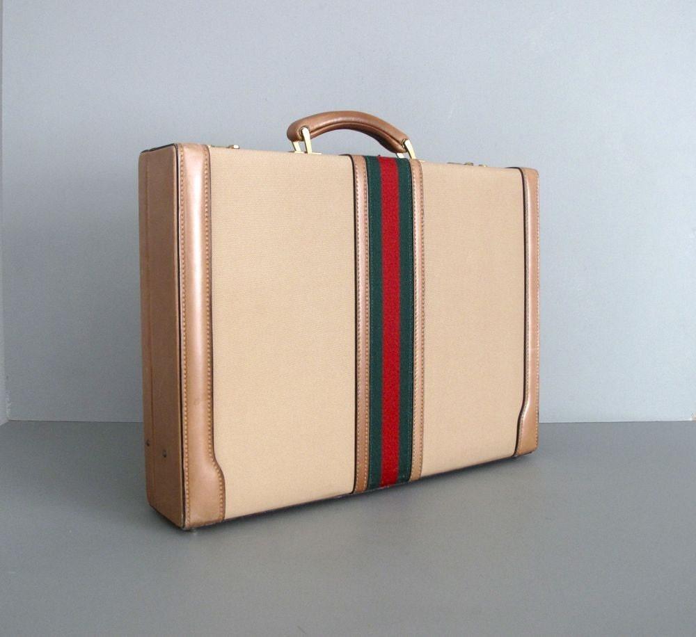 1970s vintage GUCCI briefcase