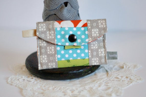 LAST ONE Mini Wallet Patchwork (Ready to SHIP)
