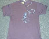 Men's\/unisex  Anchor T-Shirt  size medium