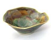 Autumn in a Bowl -  Wheel Thrown Stoneware Pottery