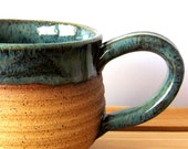 Ceramic Mug -  14 oz - Hand Thrown Stoneware