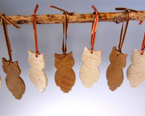 Woodland Friends Ornaments - Hooty Owl