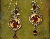 Little Squirrel Earrings - Cryptyx Symbolz Collection - Nutz 4 U