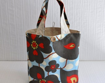Small Gift Bag - Blue Morning Glory