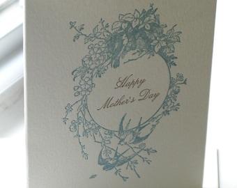 Mother's Day Floral Card (Letterpress)