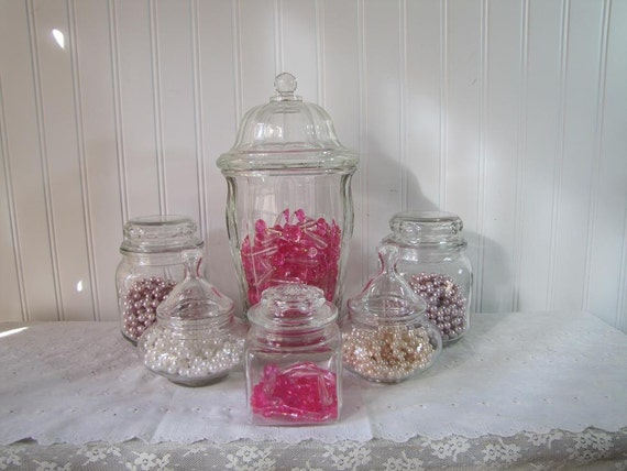 Wedding Candy Buffet Candy Dish Collection Baby Shower Kid Party  set MM