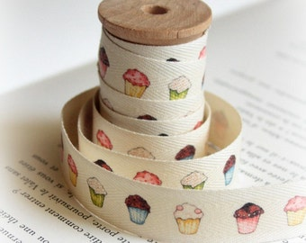 Muffins cotton tape