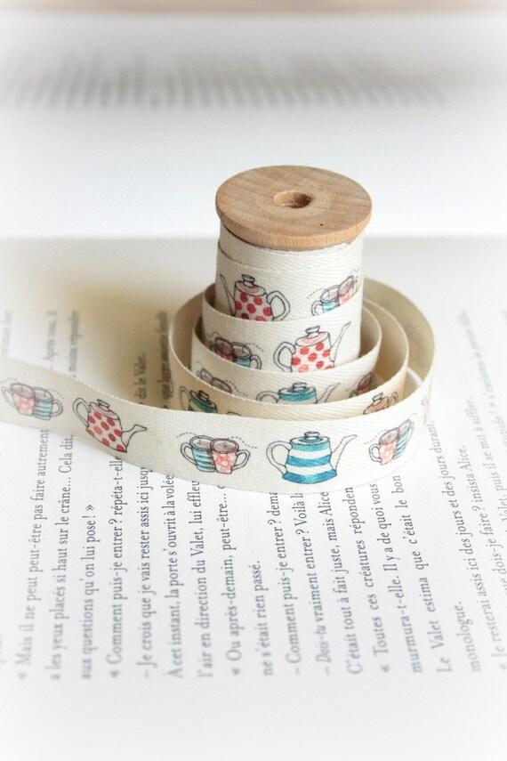 Glorious Tea cotton tape