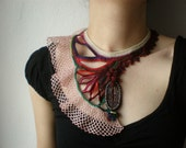Eurystomella Aupouria ... Freeform Beaded Crochet Necklace