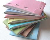 Matchbook Notepads - Set of Eight - Punched Collection