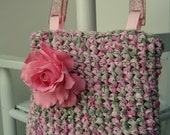 Rosalie Crocheted Purse