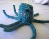 Custom Octopus Amigurumi -- choose color, legs, and face