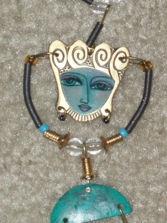 Fabulous Vintage Necklace By Kimberly Willcox For Silvestri