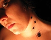 SPIDER Temporary Tattoos (Set of 5)