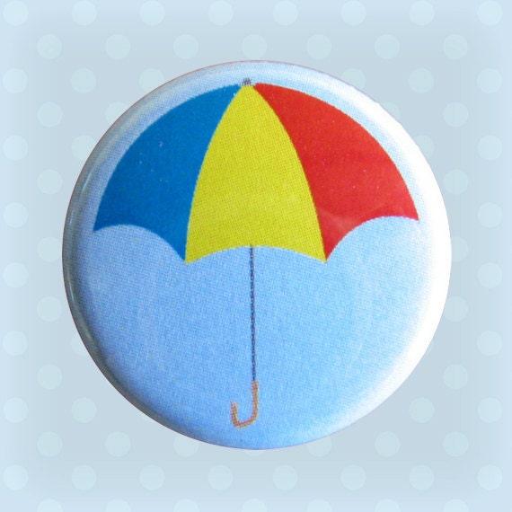 Umbrella - 1 Inch Pinback Button