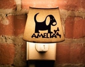 Animal Series - Dog - Personalized Night Light