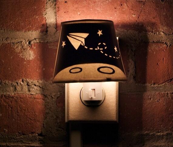 Papercut Night Light - Shoot for the Moon
