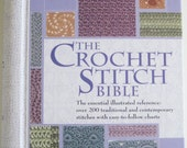 NEW - The Crochet Stitch Bible - NEVER USED