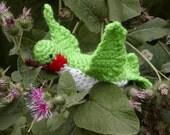 Crocheted Hummingbird--Handmade----PDF--PATTERN