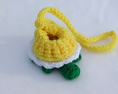 Crochet Turtle Coin Purse or Gift Bag