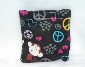 Boo boo pack- hot/cold therapy rice bag-removable cover