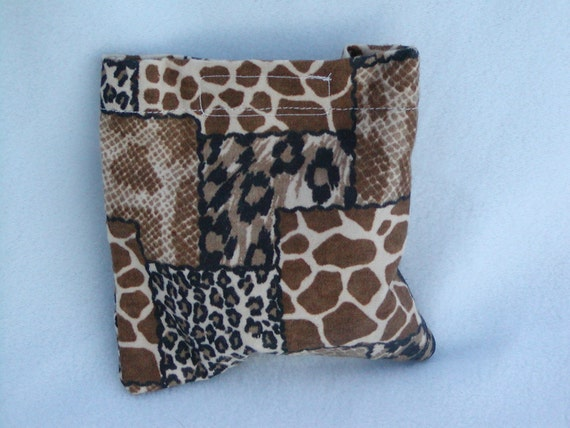 Buy2Get1Free-Boo boo pack- hot/cold therapy rice bag-animal print