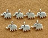 Karen Silver ELEPHANT CHARMS - 4 Pieces
