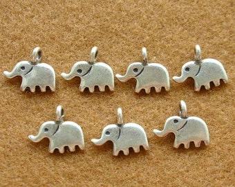 Karen Silver ELEPHANT CHARMS - 4 Pieces