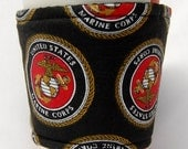 Coffee Cozy, Cup Sleeve, Eco Friendly, Slip-on: United States Marine Corps