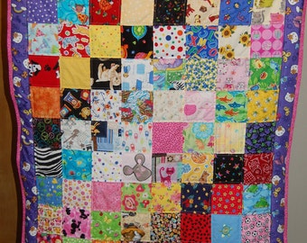 Clearance Special -I Spy Quilt: Hello Kitty - Free U.S. Shipping