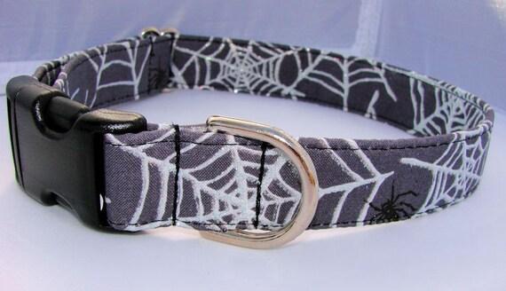 Black Widow - Custom Dog Collar