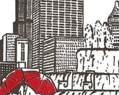 Chicago Love gocco print