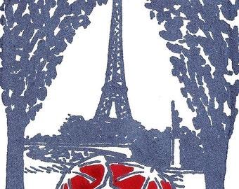 Paris Love- Blue