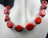 Buy any 2, get 1 FREE...Coral Necklace