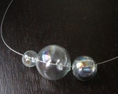 Soap Bubble Minimalist Necklace