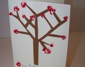 Tree of Love Quilled Greeting Card