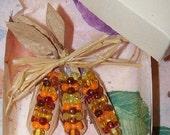 Fall Harvest Bounty Corn Pin