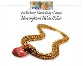 eTUTORIAL Herringbone Helios Collier