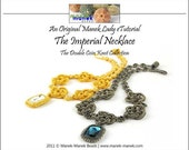 eTUTORIAL The Double Coin Knot Imperial Necklace