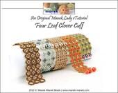 eTUTORIAL Four Leaf Clover Cuff